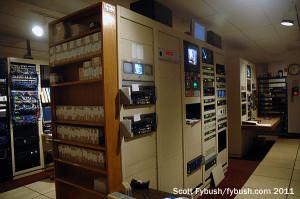 WEVV's rack room