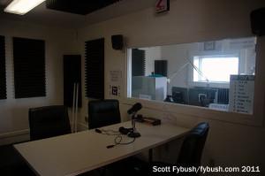WNIN-FM talk studio