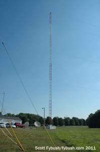 The WDNL/WDAN tower