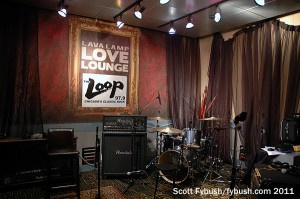 WLUP's performance studio