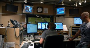 The FM News studio