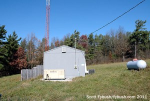 WFLR's transmitter building