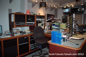 KFMB-FM production room