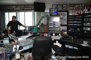 KPWR's Big Boy studio