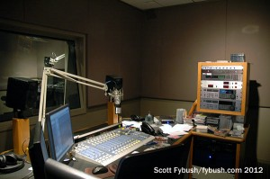 A KUSC production room