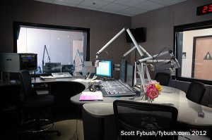 KCLU air studio