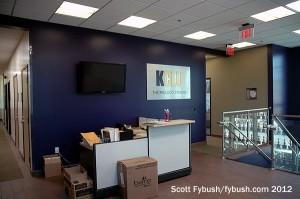KCLU's lobby
