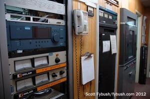 KVEN's main transmitter...