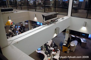 The KNBC/KVEA newsroom