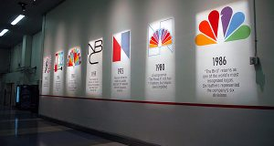 Logos outside Studio 1