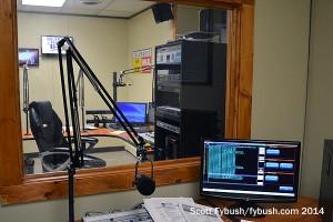 WKAL's new studio