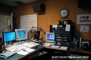 WRKI's studio