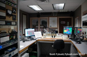 WJBC's air studio