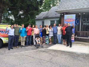 Final staff picture at WFAS, June 27