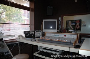 WTHI-FM: front production room