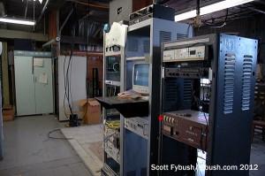 Old FM transmitter room