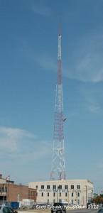 WTHI-FM's tower
