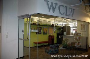 WCLV's lobby