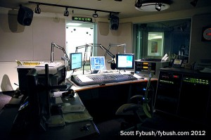 WCPN's control room