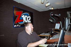 WQHZ's studio