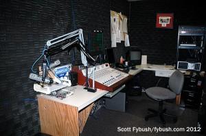 WRIE's studio