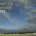 LIMITED EDITION 2015 Tower Site Calendar -- SIGNED AND NUMBERED