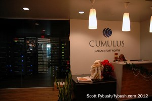 The Cumulus lobby