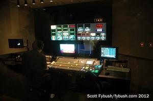 KOCE control room