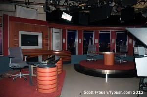 A KPBS-TV studio