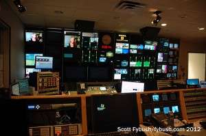 HD control room at WFAA