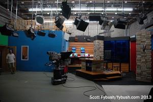 KEYC's studio
