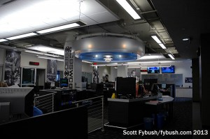 The WCBS newsroom