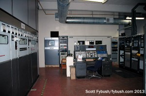 Transmitter room at WCCO