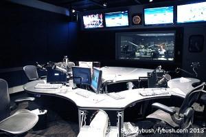 A WEPN studio