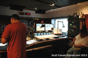 The Hot 97 studio...