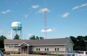 The Brookings Radio building