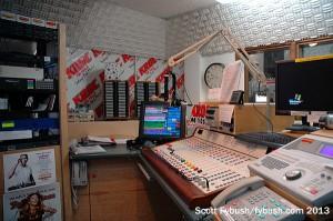 KROC-FM studio