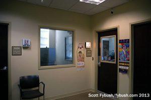 WICR's studio hallway
