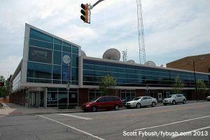 WSBT's old building, now WNIT