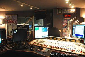 WMAL's air studio
