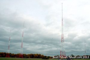 WMAL's towers