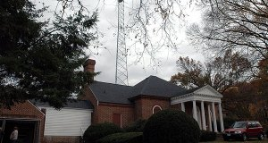 WMAL's transmitter building