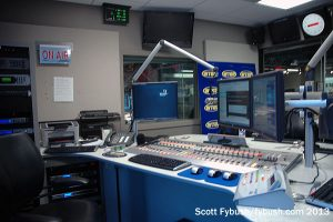 Inside a WTOP air studio