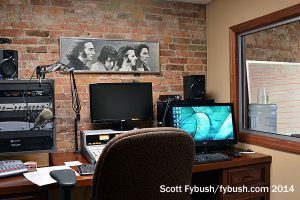 WEBO's production room