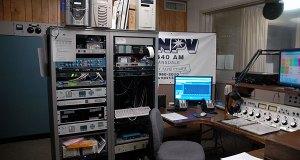 In the WNPV studio