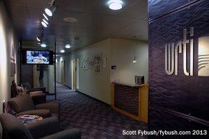WRTI's lobby