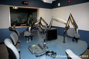 WRTI's talk studio