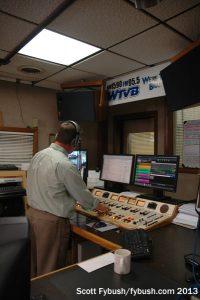 WTVB's studio