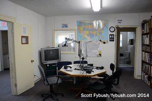 WEOS talk studio