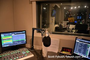 CHUM-FM producer room